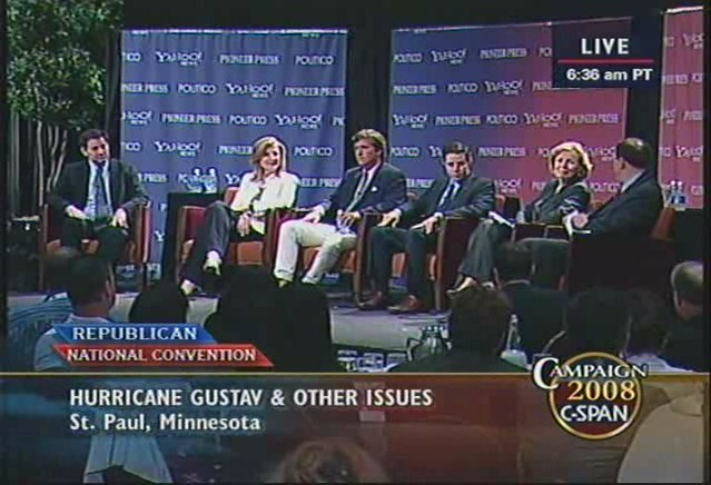 C-Span: RNC Convention Conversations with Journalists | Flickr
