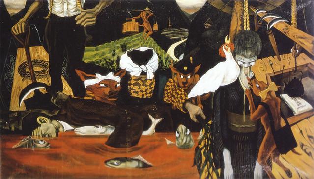 山下菊二「あけぼの村物語」(1953)