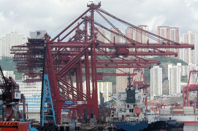 Hong Kong - Container Terminal 5