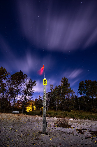 longexposure nightphotography ontario beach night clouds fullmoon nightshots startrails sigma1020mm rondeauprovincialpark southwestontario bobwest k10d