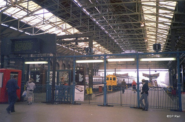 Fenchurch Street station (Old)  in 80's