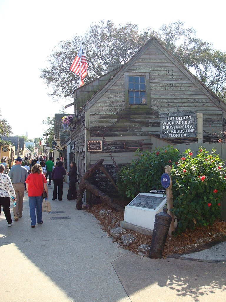 Oldest School house in America  | First appears on tax recor