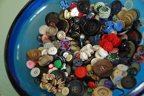 new, old buttons! | by SouleMama