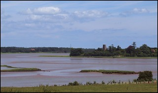 Iken across the Alde marshes