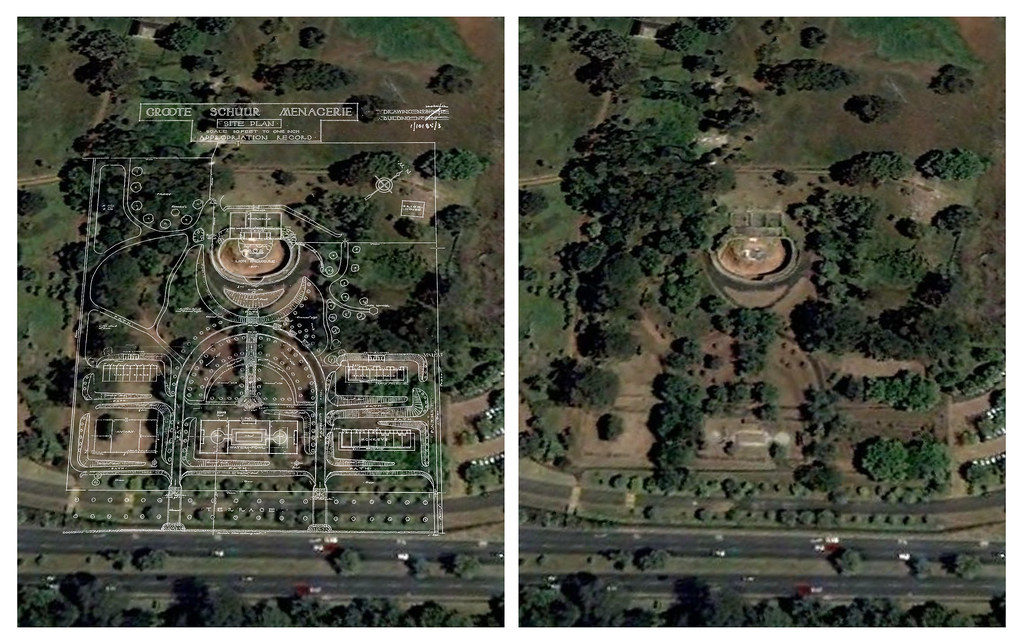 Abandoned Rhodes Zoo - Google Earth ground plan overlay   Flickr