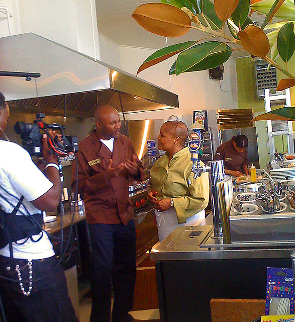 Nelson George Interviewing Tanya