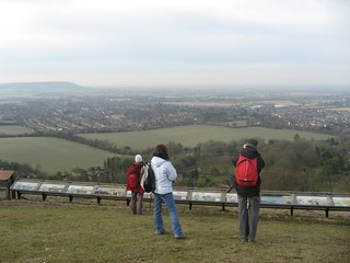 View over Buckinghamshire