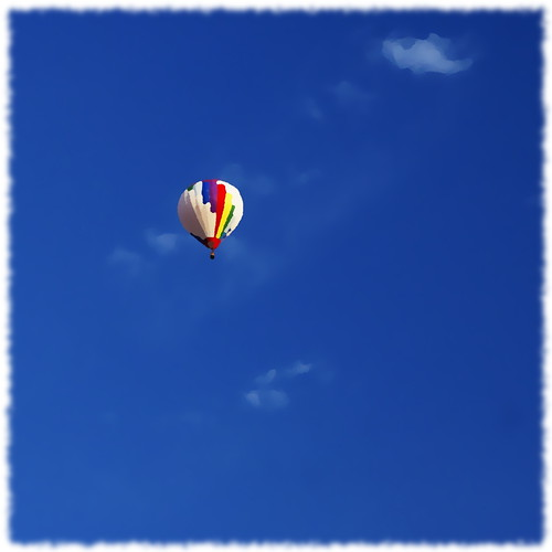 above blue sky cloud ontario canada up square fly fb sony air balloon kitchener explore hotairballoon alpha dslr oilpainting 1x1 glide a300 oilify fave5 fave10 sonydslra300 fave25 nowandhere davidfarrant