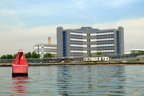 Rikers Island, East River, Bronx NYC