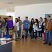 Ven, 06/06/2008 - 12:42 - Grupo de finalistas del Premio Galicia Innovación Junior 2008 con sus compañeros, profesores y familiares, durante la visita guiada por el Centro de Empresas e Innovación de Tecnópole, donde fueron recibidos por los emprendedores de Formato Verde e Innova Auria. 6/6/2008