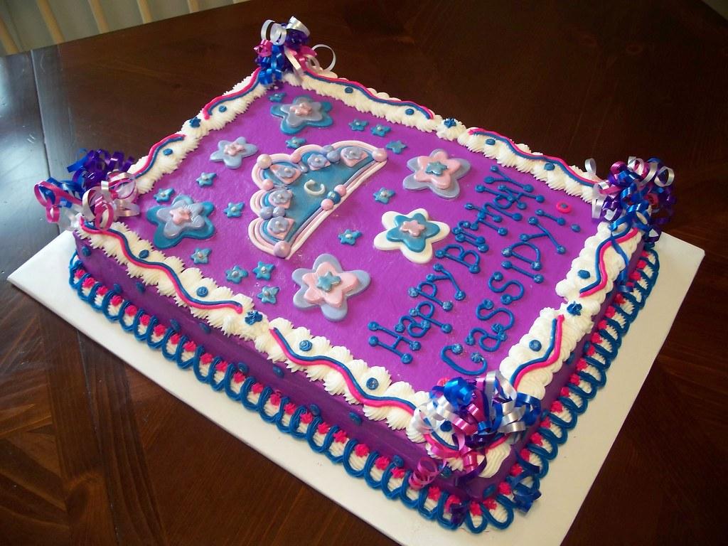 Pleasing Princess Birthday Cake Jennifer Flickr Personalised Birthday Cards Veneteletsinfo