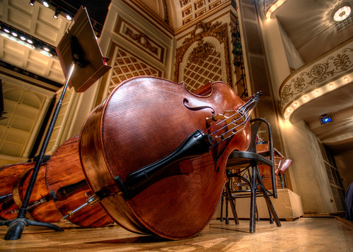bass at intermission - HDR | by haglundc