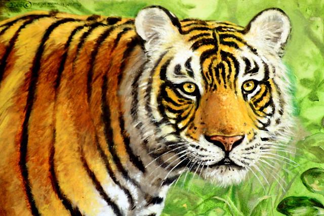 A Tiger Painting @ JLR