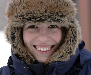 Abby, winter style