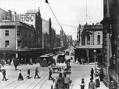 Trams, King Street, Sydney | by Powerhouse Museum Collection