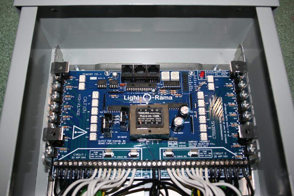 Light O Rama controller - circuit board | davef3138 | Flickr