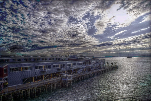 Seattle Pier HDR | by neurmadic aesthetic