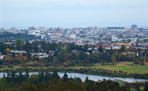 Victoria Skyline  from Christmas Hill | by thegreatscaper