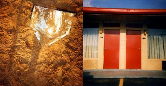 home & away from home; diptych