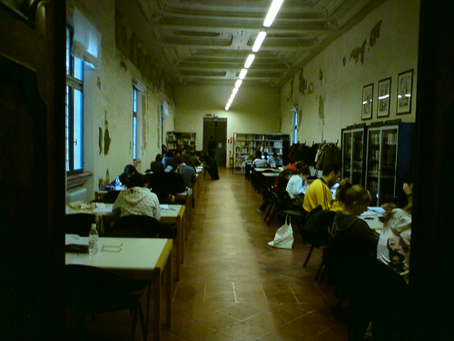 Ferrara - Biblioteca ariostea