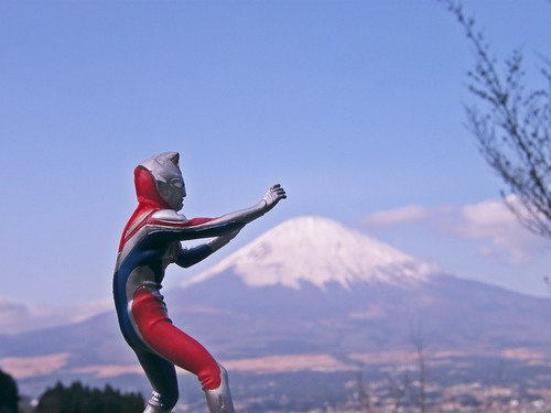 Ultraman + Mt. Fuji = JAPAN | by emrank