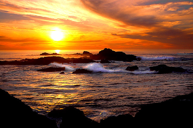Sunset in Point Lobos