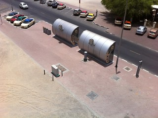 Dubai Bus stations a/c equipped   by MichaelMahlberg