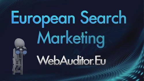 European Search Marketing #WebAuditor.Eu for Top European Online Marketing