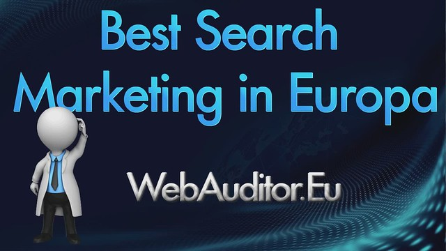 European Search Marketing #WebAuditor.Eu for Online Shops Consulting