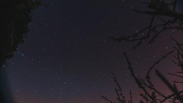3hr 20min Star Trails Timelapse 28/03/19