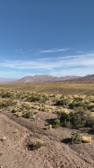 The Atacama desert at 4,000 meters (13,123.36 ft) above sea level, Base 1, Antofagasta, Chile.