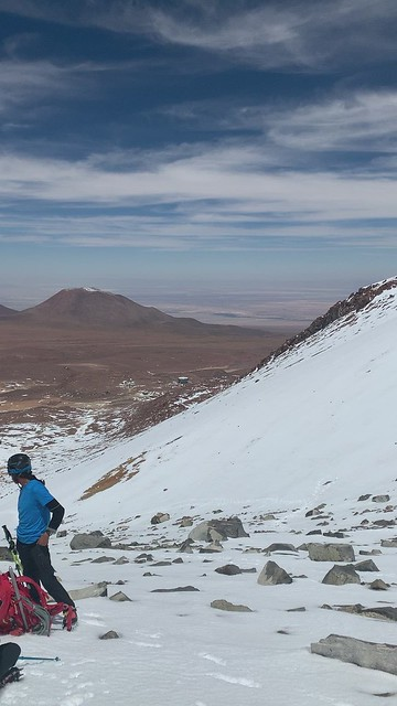 Cerro Toco (Stratovolcano), 5,280 meters (17,322.83 ft) above sea level, the Purico Complex, the Atacama desert, Antofagasta, Chile.