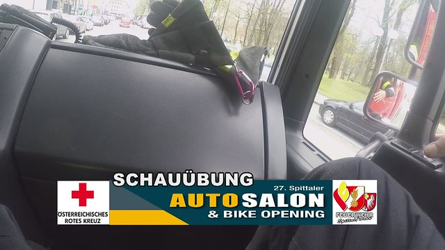 2019.04.13 - SCHAUÜBUNG beim Autosalon in Spittal an der Drau