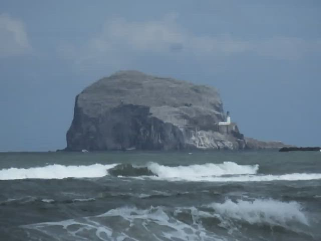 Video - Bass Rock and Waves 120fps