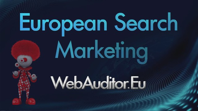 European Search Marketing #WebAuditor.Eu for SEO Best Consulting