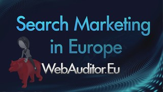 European Search Marketing #WebAuditor.Eu for Best Online Marketing in Europe