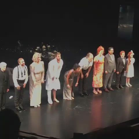 Cat on a Hot Tin Roof Opening Night | Video by https://www.instagram.com/lipintoh/