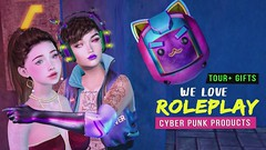 We love roleplay + gifts and a bit of cyber punk