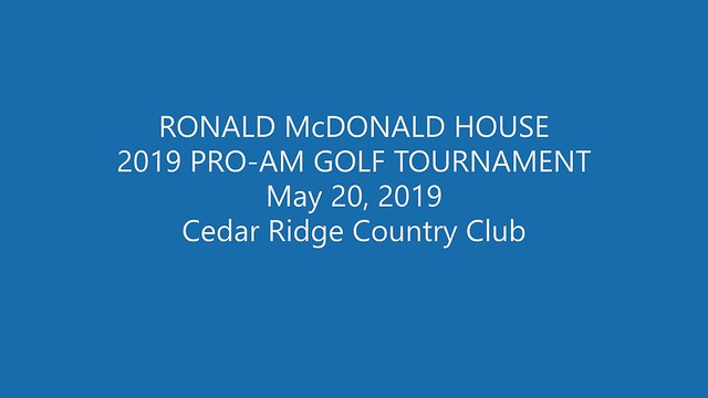 2019 3rd Annual Pro-Am Golf Tournament