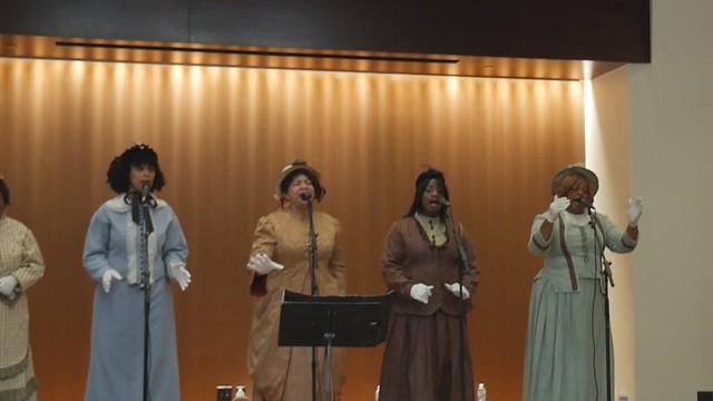 Juneteenth Celebration - Eiteljorg Museum - Freetown Singers - Couldn't Hear Nobody Pray (Longer)