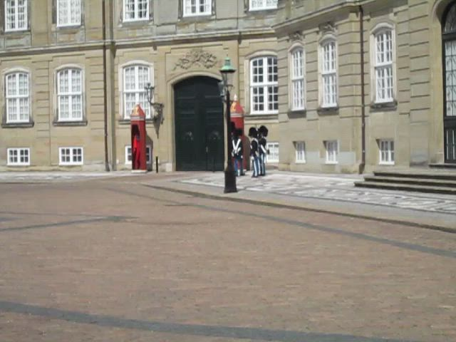 Changing Guard, Amalienborg Palace, Copenhagen