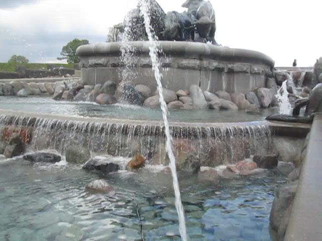 More of Gefion Fountain, Copenhagen