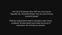 Violent Home Invasion Armed Robbery and Narcotics in Unsafe Amsterdam New York