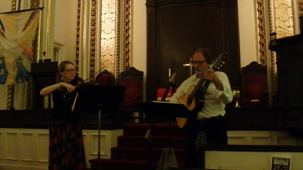 Musicians of Ma'alwyck at the First Church in Albany