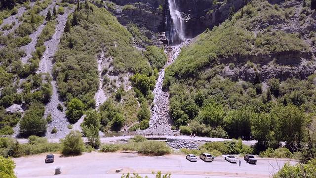 The legend of Bridal Veil Falls