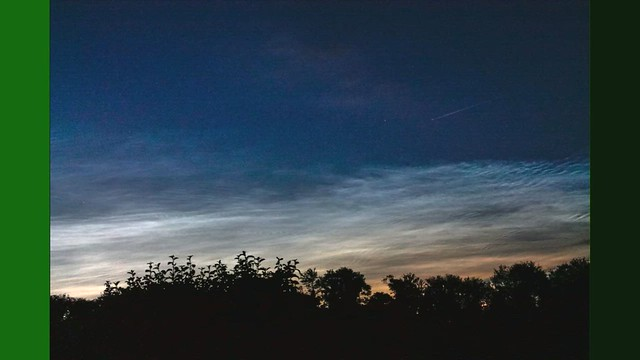 Noctilucent Clouds from Oxfordshire 21/06/19