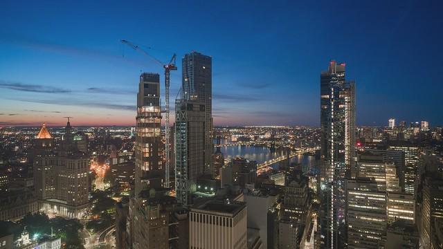 Lower Manhattan Sunrise TL 061519 HD with music