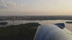 Flight over Helsinki
