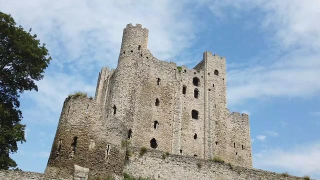 Rochester Castle Time-Laps