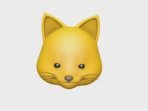 "My Animoji says ""Hey!"""